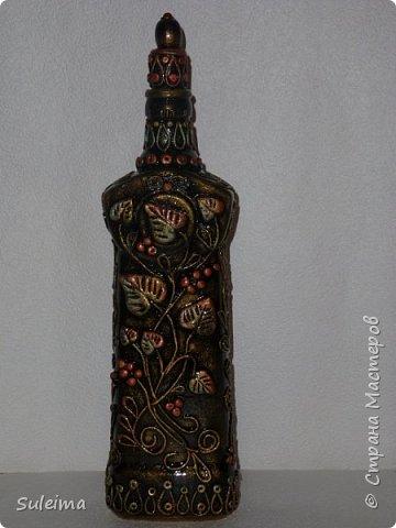 Декор бутылок фото 9