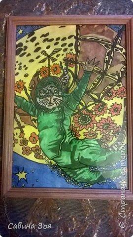 Моя сестра живёт в Москве и рисует вот такие замечательные рисунки, потом вставляет их в раму и получаются красивые картины - прекрасное решение для украшения интерьера. Мне очень нравится)))) фото 9