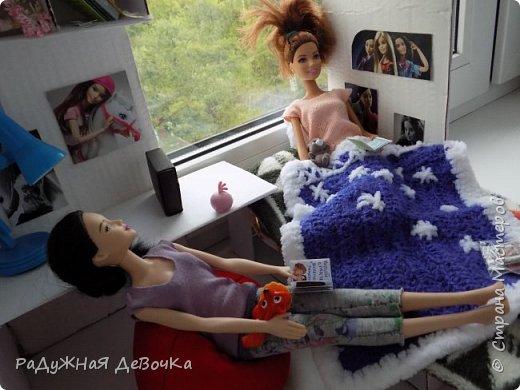 Доброго времени суток дорогие жители Страны Мастеров!!! Сегодня мы с Терезой и Мэй представляем вам их комнату, то есть ее главную часть! фото 10