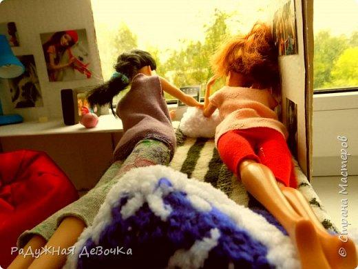 Доброго времени суток дорогие жители Страны Мастеров!!! Сегодня мы с Терезой и Мэй представляем вам их комнату, то есть ее главную часть! фото 12