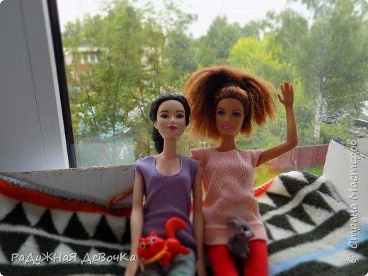 Доброго времени суток дорогие жители Страны Мастеров!!! Сегодня мы с Терезой и Мэй представляем вам их комнату, то есть ее главную часть! фото 13