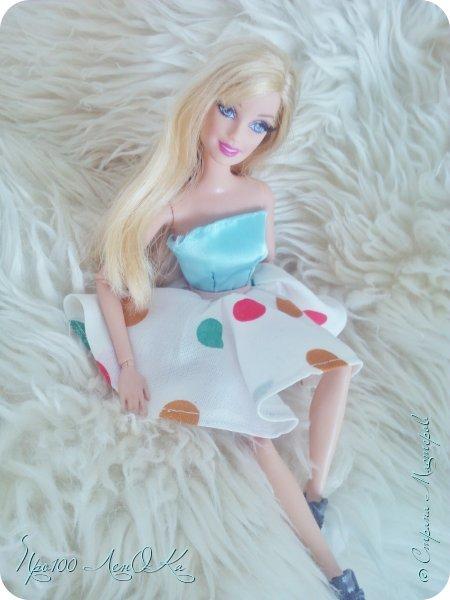 Доброго времени суток, жители СМ! Я решила сделать мк по юбке-солнцу для кукол. Надеюсь, вам он пригодится. фото 22