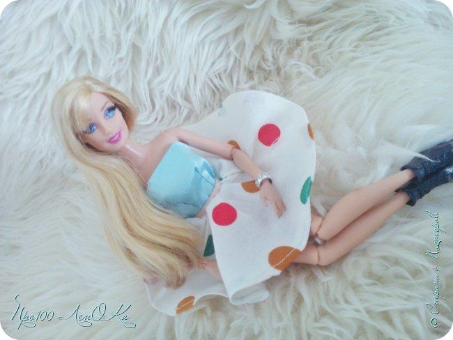 Доброго времени суток, жители СМ! Я решила сделать мк по юбке-солнцу для кукол. Надеюсь, вам он пригодится. фото 23
