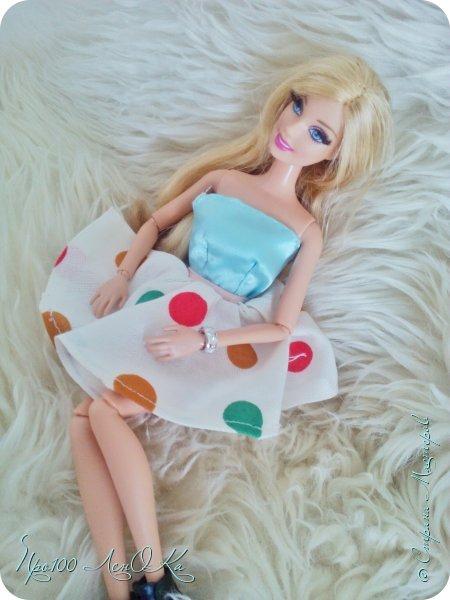 Доброго времени суток, жители СМ! Я решила сделать мк по юбке-солнцу для кукол. Надеюсь, вам он пригодится. фото 24
