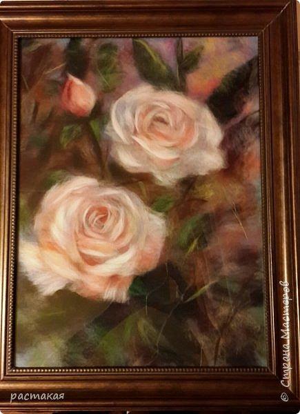Спасибо, всем, кто зашел ко мне. Картина сделана на мастер классе Яны Богдановой фото 3