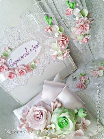 Свадебный мини набор.Нежность  фото 5