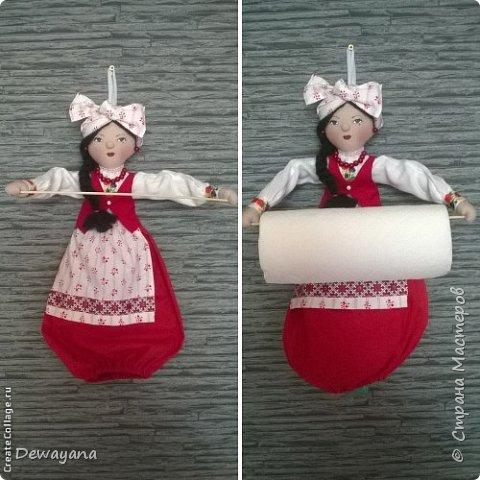 Мои первые заказики - куколки украиночки. фото 7