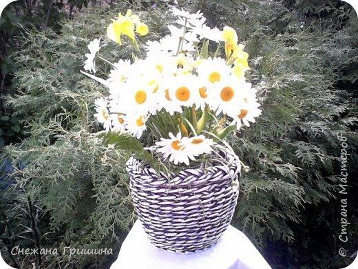 Здравствуйте дорогие жители Страны Мастеров! Лето и дачный сезон в разгаре!!! Я все пристраиваю свои цветочки в плетеные корзинки!! фото 6