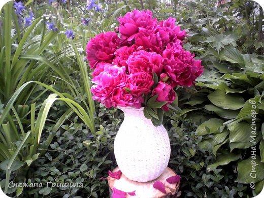 Здравствуйте дорогие жители Страны Мастеров! Лето и дачный сезон в разгаре!!! Я все пристраиваю свои цветочки в плетеные корзинки!! фото 8
