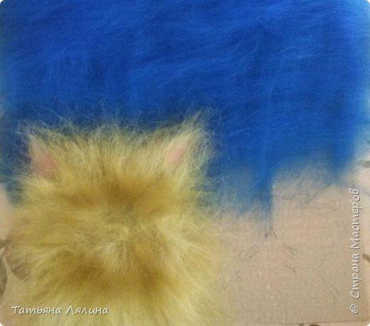 Если на душе скребут кошки - начните выкладывать шерстью совсем другую кошку - милую, немножко бестолковую и себе на уме. Настроение однозначно поползет вверх! фото 2
