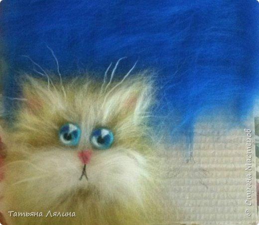 Если на душе скребут кошки - начните выкладывать шерстью совсем другую кошку - милую, немножко бестолковую и себе на уме. Настроение однозначно поползет вверх! фото 3
