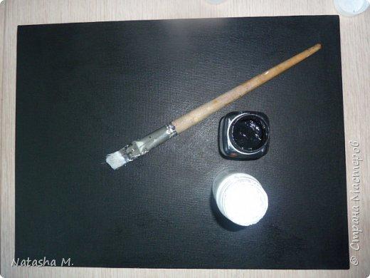 """Мой третий по счету холст, второй здесь: http://stranamasterov.ru/node/1034517.   Вдохновила меня работа, одного известного каллиграфа  России, на создание вот такого  кота.   Захотелось чего-то простого, без буйства цвета.  Люблю черно-белый стиль,  и часто рисую в таком направлении. Рисовала, да именно рисовала, хотя художники пишут, не люблю это слово """"писать"""" картины, да и, не художник я. Так вот рисовала поздним вечером, ночью -даже время удачное.   Когда на город опустится вечер, Зажжется свет в твоём окне. Мир станет снова безупречен, Печаль оставь в ушедшем дне.  Забудь печали и тревоги, Ведь завтра будет новый день. Перед тобою все дороги Открыты будут, только верь.  Ну, а сейчас спокойной ночи! Подул прохладный ветерок. Я сон твой чуткий не испорчу, Расцвел в саду ночной цветок. Автор не известен.      фото 7"""