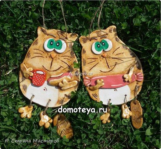 Всем привет, кто заглянул на огонек  =)  Первая парочка - коты-обжорки фото 1