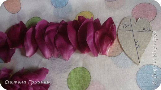 Здравствуйте дорогие жители Страны Мастеров!!! Сегодня я разобрала пион ,может кому то будет интересно и послужит наглядным примером для создания цветов из фоамирана и холодного фарфора или п/глины.... фото 4