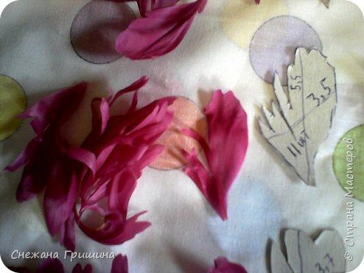 Здравствуйте дорогие жители Страны Мастеров!!! Сегодня я разобрала пион ,может кому то будет интересно и послужит наглядным примером для создания цветов из фоамирана и холодного фарфора или п/глины.... фото 8