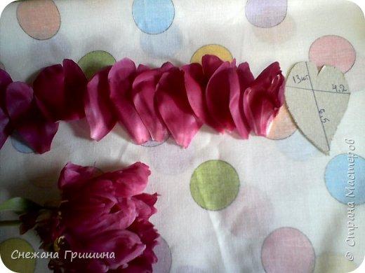 Здравствуйте дорогие жители Страны Мастеров!!! Сегодня я разобрала пион ,может кому то будет интересно и послужит наглядным примером для создания цветов из фоамирана и холодного фарфора или п/глины.... фото 12