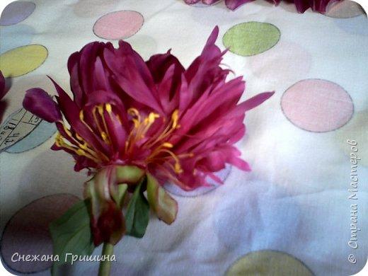 Здравствуйте дорогие жители Страны Мастеров!!! Сегодня я разобрала пион ,может кому то будет интересно и послужит наглядным примером для создания цветов из фоамирана и холодного фарфора или п/глины.... фото 13