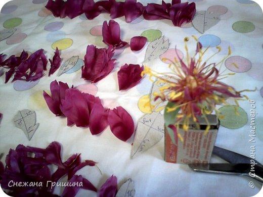 Здравствуйте дорогие жители Страны Мастеров!!! Сегодня я разобрала пион ,может кому то будет интересно и послужит наглядным примером для создания цветов из фоамирана и холодного фарфора или п/глины.... фото 20