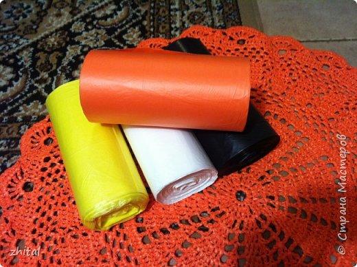 В инете много инфы про вязание из пакетов полиэтиленовых. Навязались и у меня коврики ... фото 8