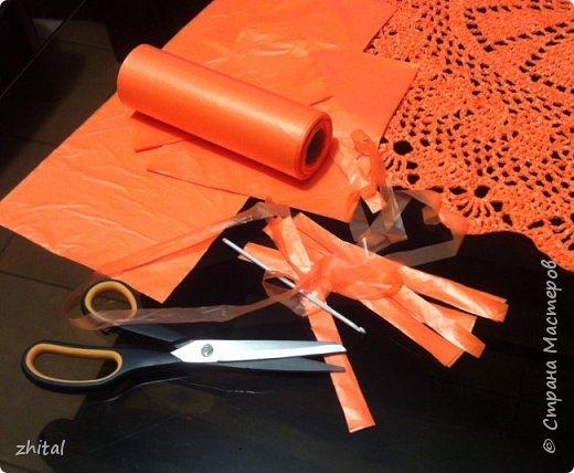 В инете много инфы про вязание из пакетов полиэтиленовых. Навязались и у меня коврики ... фото 9