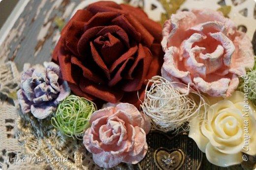 все цветы и фон самодельные фото 6
