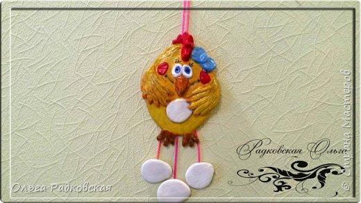 Веселая курочка(подвеска на стену) фото 2