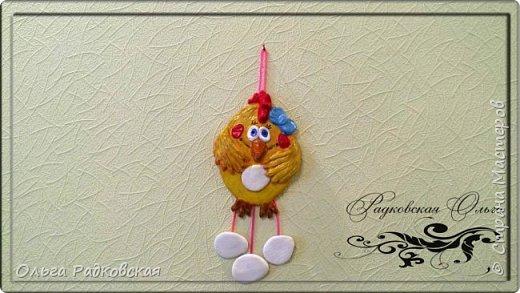 Веселая курочка(подвеска на стену) фото 3