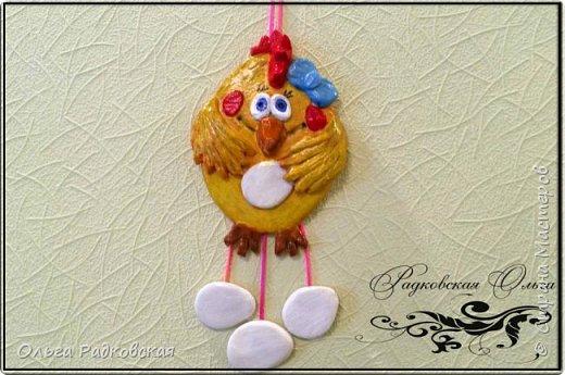 Веселая курочка(подвеска на стену) фото 1