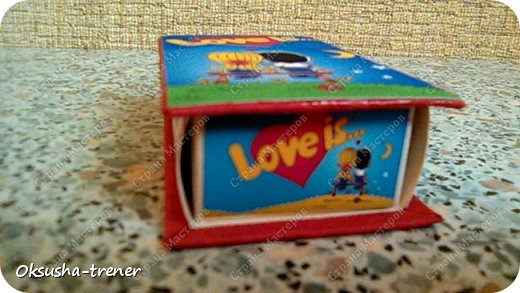 Мини-шоко-комплимент LOVE IS... фото 3