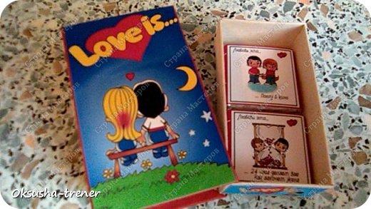 Мини-шоко-комплимент LOVE IS... фото 6