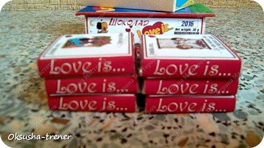 Мини-шоко-комплимент LOVE IS... фото 8