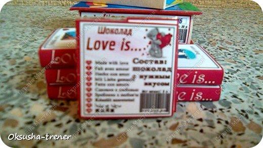 Мини-шоко-комплимент LOVE IS... фото 9