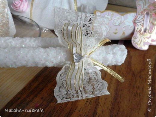 Свадебный набор для Кристины и Владимира сделан на заказ!  фото 4