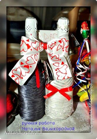 """Представляю вам свадебный набор сделанный на заказ для Эльвиры и Сергея  в """"Бело-сине-красных тонах"""" св фото 2"""