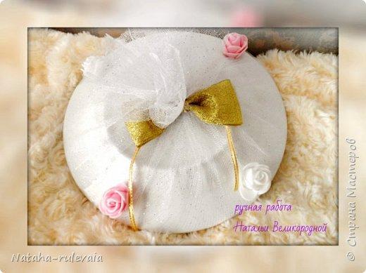 Свадебный набор для Кристины и Владимира сделан на заказ!  фото 9