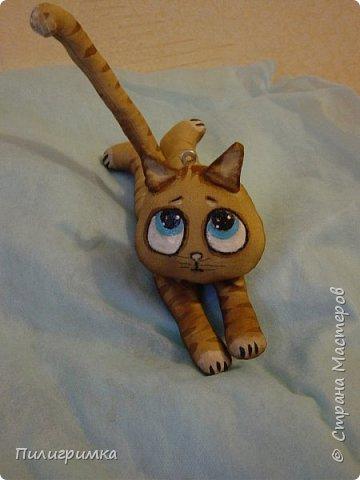 Коты сшиты из флиса. фото 7