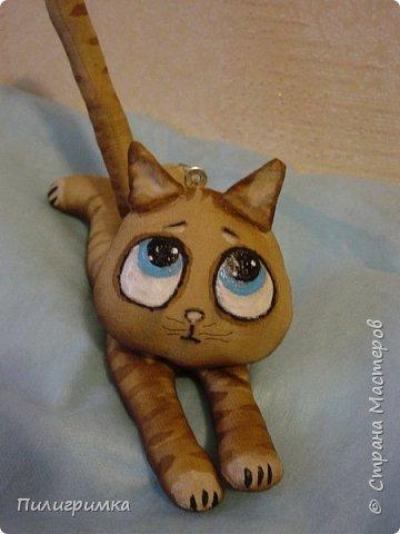 Коты сшиты из флиса. фото 8