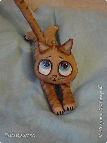 Коты сшиты из флиса. фото 9