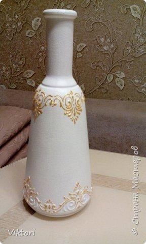 Добрый день! Вот неуглядела и бутылочка осталась не показанной. Заказ был на оливковый цвет и много бабочек. фото 6