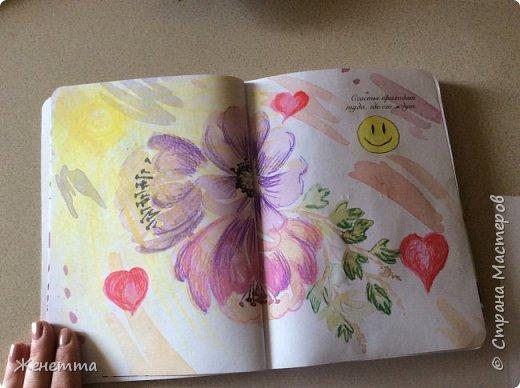 Мои творческие блокноты с первыми рисунками фото 2