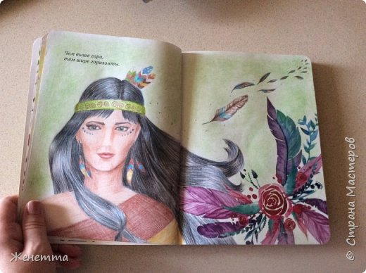 Мои творческие блокноты с первыми рисунками фото 1