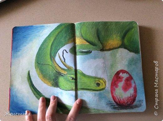 Мои творческие блокноты с первыми рисунками фото 6