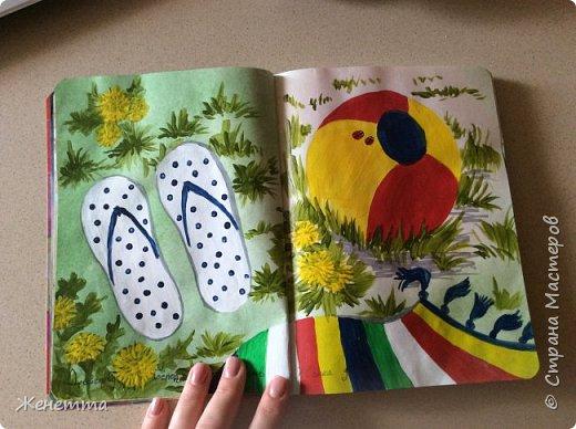 Мои творческие блокноты с первыми рисунками фото 8