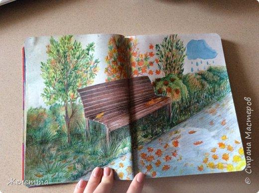 Мои творческие блокноты с первыми рисунками фото 9
