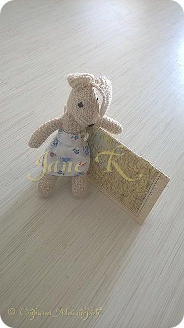 Здравствуйте!!!  Это юбочка для моей вязаной зайки. фото 1