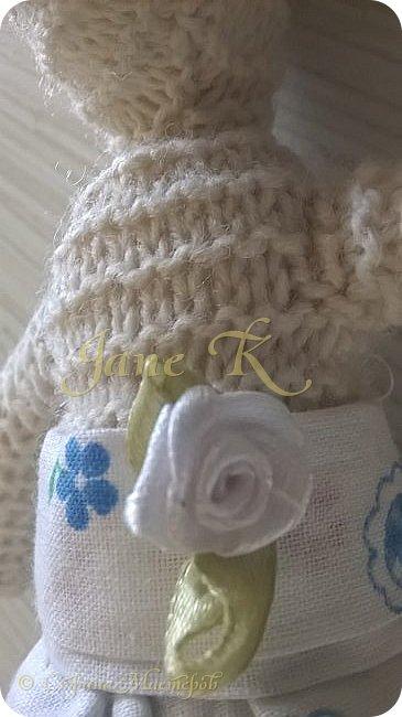 Здравствуйте!!!  Это юбочка для моей вязаной зайки. фото 3
