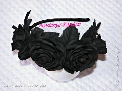 ох уж, эти черные розы!!!! фото 1