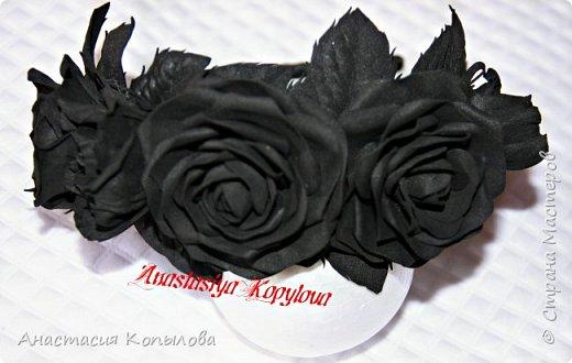 ох уж, эти черные розы!!!! фото 2
