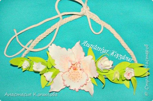 повязочка м орхидейкой фото 2