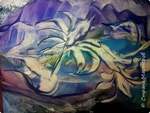 Летящий цветок. фото 1